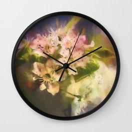 Splash Of Spring Wall Clock