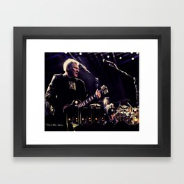 Rush - Snakes and Arrows Tour Framed Art Print