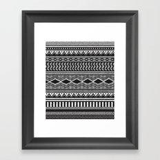 Ethnic Black Framed Art Print