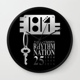 Rhythm Nation's 25th anniversary Wall Clock