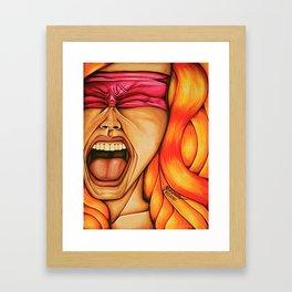 Naked Silence Framed Art Print