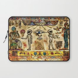 Ancient Aliens Laptop Sleeve