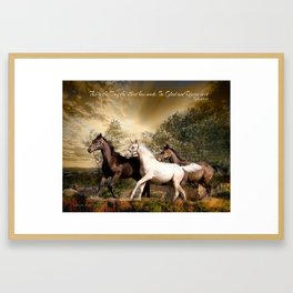 This is the day the Lord has made Framed Art Print