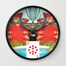 Ten of Cups Wall Clock