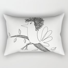 Sitting On A Tree Rectangular Pillow