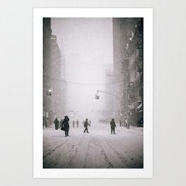 Storm Jonas Art Print