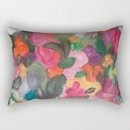 Flower World Rectangular Pillow