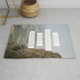 The Great Commission Bible Institute Print - 3 Rug
