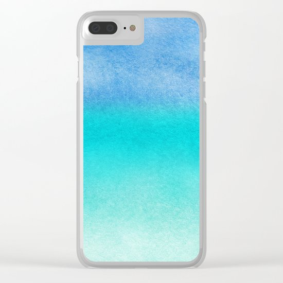 Tropical sea #10 Clear iPhone Case