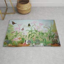 Fairy Garden#1 Rug