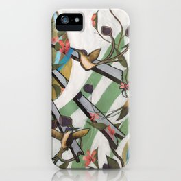 Bird Pattern 01 iPhone Case
