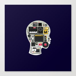 music memento Canvas Print