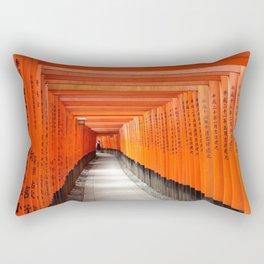 Fushimi Inari Shrine - Ellie Wen Rectangular Pillow