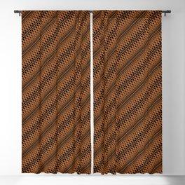 Criss Cross Blackout Curtain