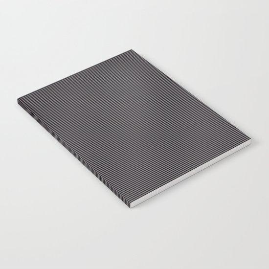 Soft Parisian Stripes Notebook