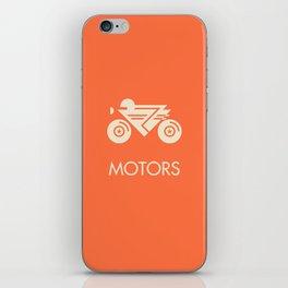 MOTORS / The Bike iPhone Skin