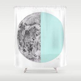 Half Moon Shower Curtain