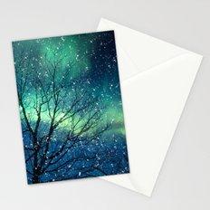 Aurora Borealis Northern Lights Stationery Cards