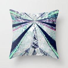 GEO BURST Throw Pillow