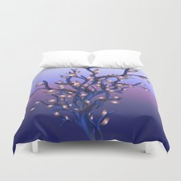 The Resolutions Tree at Dawn Duvet Cover