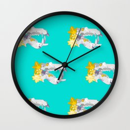 A Powerful Bite Wall Clock