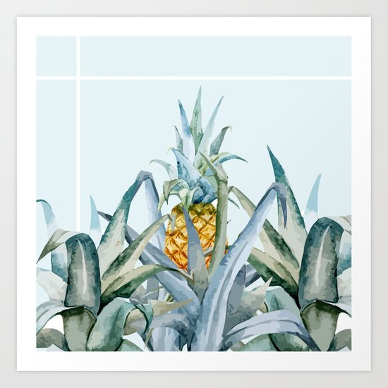 tropical feeling  Art Print
