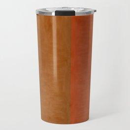 Shades of Brown Travel Mug