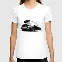 mini cooper T-shirts featuring MINI Cooper S by zero2sixty