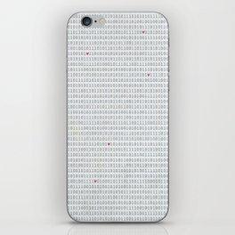 Binary Code Love iPhone Skin