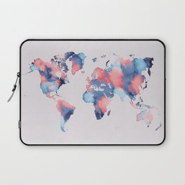 map world map 58 Laptop Sleeve