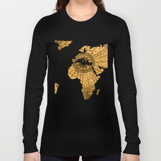 Antique Star Map IV Long Sleeve T-shirt