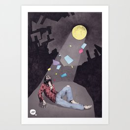 After the Goldrush Art Print