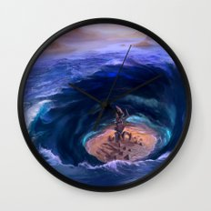 Mysteries of the Deep Wall Clock
