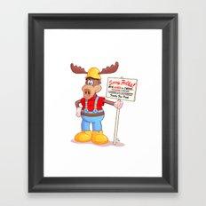 Wally Framed Art Print