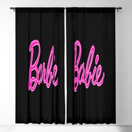 80's barbie 2 Blackout Curtain