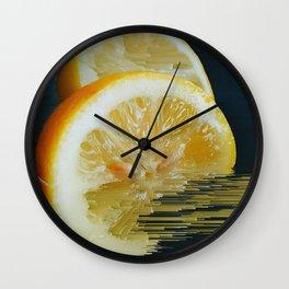 Lemony Good V.2 Wall Clock