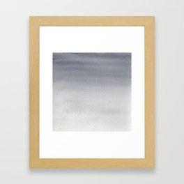 PAYNE'S GREY Framed Art Print