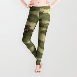 Keep Calm and Soldier On Leggings