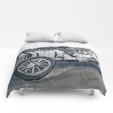 Race car Comforters