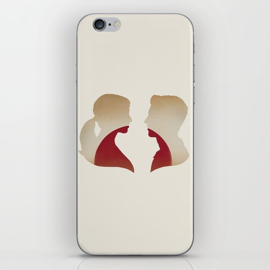 Love & the Setting Sun iPhone & iPod Skin