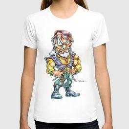 The Darkslayer (Melegal) Super Head by RAK T-shirt