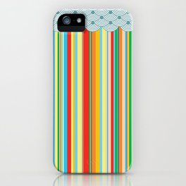 the stripes iPhone Case