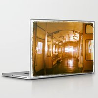 train Laptop & iPad Skins featuring Train  by Raquel Belloch