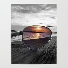 Sunset Perspective Poster