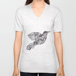 Mockingbird Unisex V-Neck