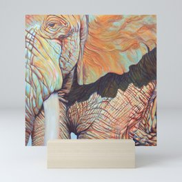 Jupiter, Elephant Mini Art Print