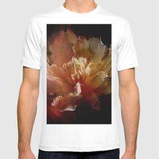 Dry Flowers 3 MEDIUM Mens Fitted Tee White