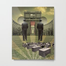 The Ivory Tower Metal Print