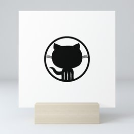 Popular Github Linux Merb Ruby GEEK programmer LM325 Best Trending Mini Art Print