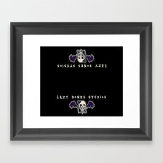 FOR THE LBS CONVENTION TABLES Framed Art Print